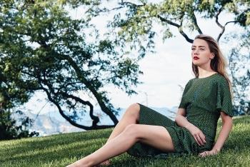 Amber Heard for C Magazine by Francesco Carrozzini